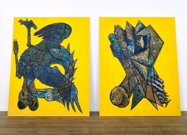 Faust, oil on canvas, 320 x 200 cm. Courtesy of Charles Bettinson Photography